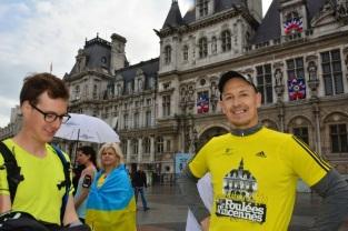 Thomas, Run For Peace à Paris, photo de Cyrille Clément
